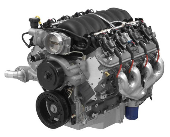 LS376 480 HP engine