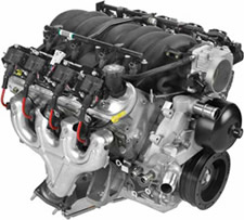 LS6 5.7 liter corvette Zo6 engine image