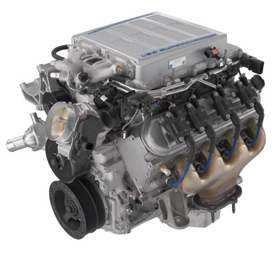 LS9 6.2 liter engine